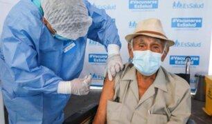 Essalud: conoce el cuarto grupo de adultos mayores que serán vacunados