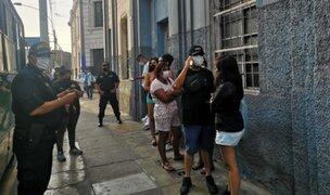 Intervienen prostíbulos clandestinos frente al hospital Arzobispo Loayza