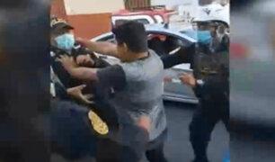 Surco: extranjero en estado de ebriedad agredió a policías y serenos
