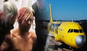 EEUU: Pasajero intenta abrir puerta de emergencia de un avión en pleno vuelo
