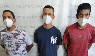 Capturan a presuntos sicarios que atacaron a balazos a un taxista en el Callao