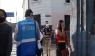 Clausuran prostíbulo clandestino en el Cercado de Lima