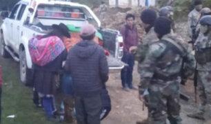 Presuntos remanentes senderistas secuestran y matan a cuatro personas en Ayacucho