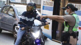 SMP: Intervienen a motociclistas por no respetar la ciclovía
