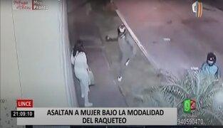 Víctima de robo denuncia falta de seguridad en límite de Lince con San Isidro