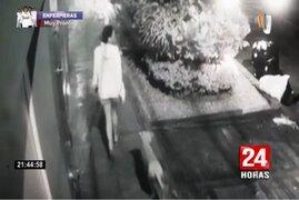 Surco: asaltan a joven mientras paseaba tranquilamente a su mascota