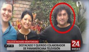 Panamericana Tv lamenta el fallecimiento de destacado colaborador Ricardo Montenegro