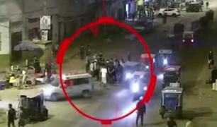 """Detienen a """"robacelulares"""" que sembraban el terror en diferentes distritos de Lima"""