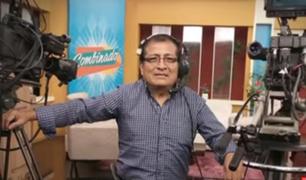 ¡Panamericana Tv de luto!: falleció nuestro amigo Plácido Espinoza Calderón