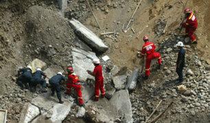 Arequipa: continúan esfuerzos para liberar a trabajador que quedó atrapado al interior de una mina