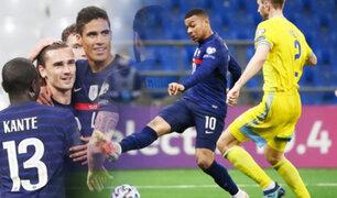 Francia vence 2-0 a Kazajistán por las Eliminatorias a Qatar 2022