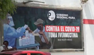 Polémica en Piura: colocan carteles que recomiendan tomar ivermectina para evitar el Covid-19