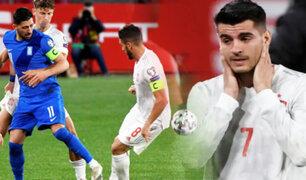 Por las Eliminatorias Qatar 2022 España empató de local 1-1 con Grecia