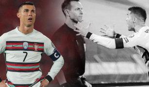 Cristiano Ronaldo se pronuncia por gol no convalidado para Portugal
