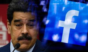 Nicolás Maduro: Facebook bloqueó su cuenta por 30 días