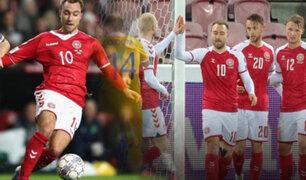Dinamarca goleó 8-0 a Moldavia por las Eliminatorias europeas Qatar 2022