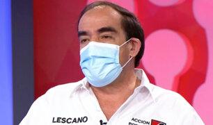 """Yonhy Lescano: """"Hay pura guerra sucia desde que he llegado al primer lugar"""""""