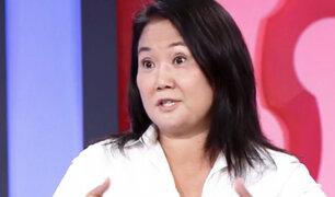 """Keiko Fujimori: """"Vivir  más de 16 meses en prisión a cualquier persona la hace cambiar"""""""