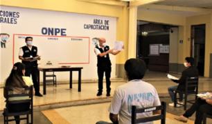 ONPE: más de 160 mil miembros de mesa fueron capacitados para las elecciones del 11 de abril