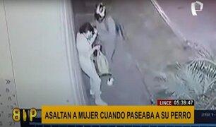 Surco: mujer es asaltada con un arma y se llevan su celular y reloj
