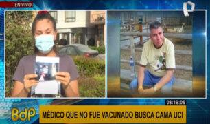 Médico no vacunado necesita cama UCI tras contagiarse de Covid-19 mientras laboraba