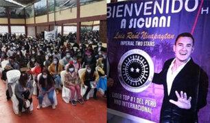 Cusco: intervienen a 300 personas que participaban en una charla de liderazgo y motivación