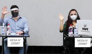 Miembros de mesa podrían pedir retiro de mascarilla para evitar suplantaciones, indica ONPE