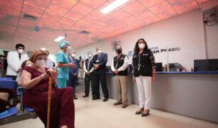 Premier Bermúdez: Gobierno vacunará al mayor número posible de peruanos