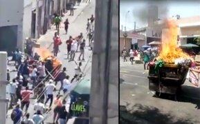 Mesa Redonda: 17 fiscalizadores heridos tras nuevo enfrentamiento con ambulantes