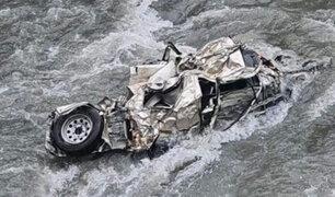 Puno: buscan sacerdote que desapareció en el río Inambari tras caída de vehículo