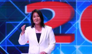 "Keiko Fujimori: ""Tengo mucha fe que en próximas horas se confirmará mi pase a segunda vuelta"""
