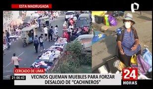 Vecinos de Manzanilla piden que cachineros sean reubicados prontamente