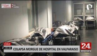Valparaíso: morgue de hospital colapsa tras alto número de muertos por COVID-19