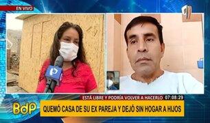 """Expareja de hombre que se grabó quemando casa: """"era controlador y me celaba"""""""