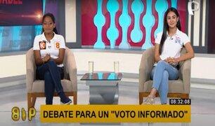 Konnie Vidaurre (APP) y Rosángela Barbarán (FP) a favor de incluir a los privados en la vacunación