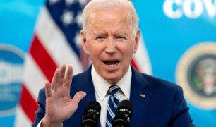 Joe Biden afirma que casi la mitad de los líderes del mundo le piden vacunas covid-19