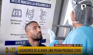 Alianza Lima regresa a las canchas HOY a las 3:30 pm: futbolistas pasan pruebas COVID-19