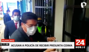 Huancayo: intervienen a mujer policía tras recibir presunta coima