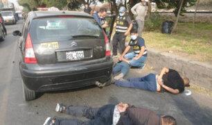 Persecución y balacera en Santa Anita: caen delincuentes que robaron S/ 60 mil a empresario