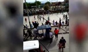 Piura: atacan a serenos que intervinieron campeonato de fútbol