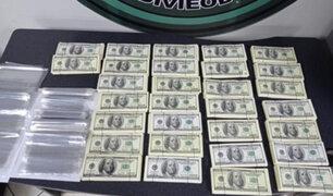 Decomisan 300 mil dólares falsificados en una vivienda de SJM