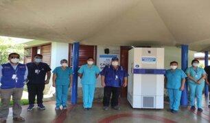 Red Asistencial de EsSalud en Piura adquirió ultracongeladora para vacunas de Pfizer
