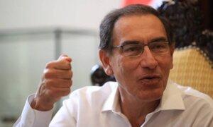 Vizcarra presentó medida cautelar ante CIDH en contra del Congreso