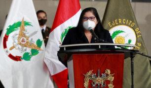 """Ministra Esparch sobre terrorista 'Raúl': """"En enero ya teníamos informes que indicaban su muerte"""""""