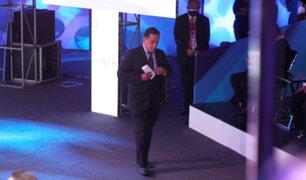 Debate presidencial: José Vega se retira del encuentro antes de exponer sus propuestas