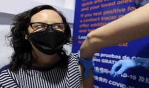Nueva York inició vacunación contra la COVID-19 de mayores de 30 años