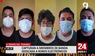 Puente Piedra: detienen a miembros de banda dedicada a robos electrónicos