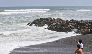 Se presentarán oleajes ligeros desde esta noche hasta el sábado 3 a lo largo del litoral