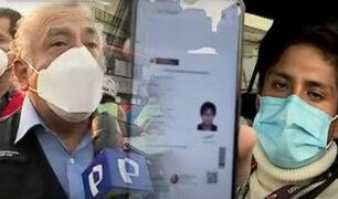 Brevete electrónico: Se realiza operativo policial a conductores en el Centro de Lima