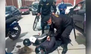 Huancayo: casi linchan a ladrones que robaron celular a joven